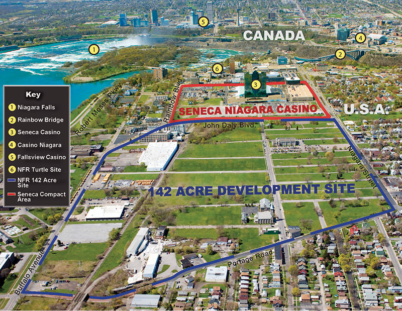 Niagara property aerial map